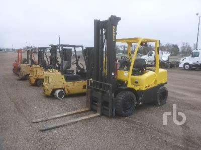 2013 HYSTER H80FT 5500 Lb Forklift