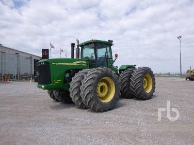 2005 JOHN DEERE 9520 Scraper Special 4WD Tractor