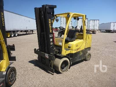 2008 HYSTER S120FTPRS 8250 Lb Forklift