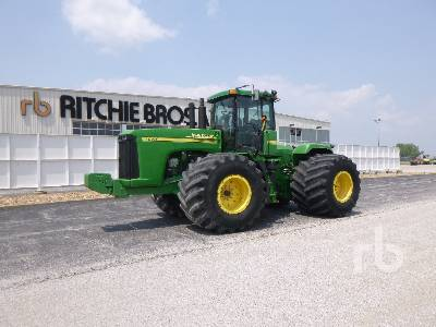 2004 JOHN DEERE 9420 Scraper Special 4WD Tractor