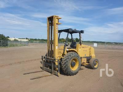 2013 HARLO HP6500 6500 Lb 4x4 Rough Terrain Forklift