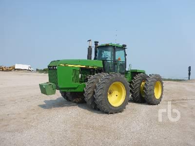 1991 JOHN DEERE 8960 4WD Tractor