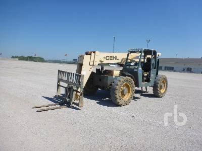 GEHL RS8-42 8000 Lb 4x4x4 Telescopic Forklift