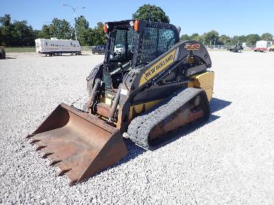 2012 NEW HOLLAND C232 2 Spd Compact Track Loader