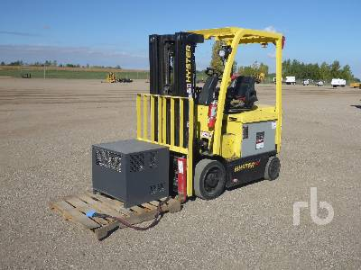 2016 HYSTER E50XM 4800 Lb Electric Forklift