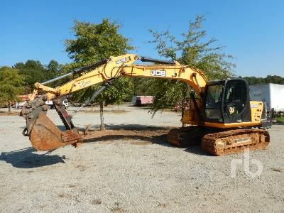 2015 JCB JS145 LC Hydraulic Excavator