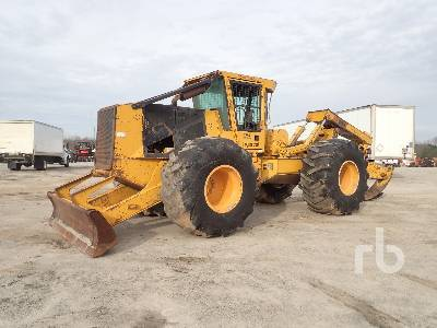 2006 TIGERCAT 620C Rubber-Tired Grapple Skidder