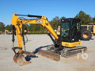 2016 JCB 55Z1 Mini Excavator (1 - 4.9 Tons)