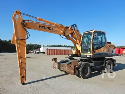 2014 HYUNDAI ROBEX140W-9 Mobile Excavator