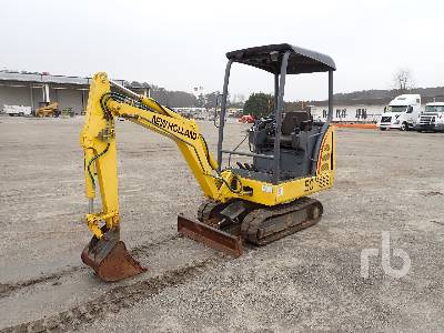 2005 NEW HOLLAND EC15 Mini Excavator (1 - 4.9 Tons)