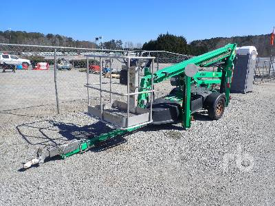 2014 JLG T350 Electric Tow Behind Articulated Boom Lift