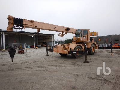 1995 GROVE RT528C Rough Terrain Crane