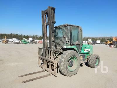 2011 JCB 930 6000 Lb 4x4 Rough Terrain Forklift