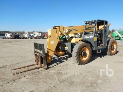 2014 GEHL RS6-42 6600 Lb 4x4x4 Telescopic Forklift
