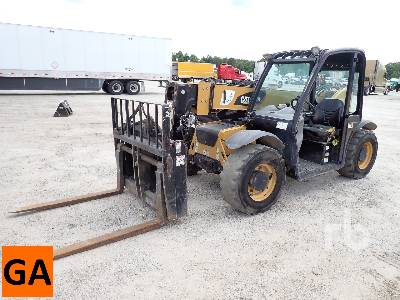 2017 CATERPILLAR TH255C 4x4x4 Telescopic Forklift