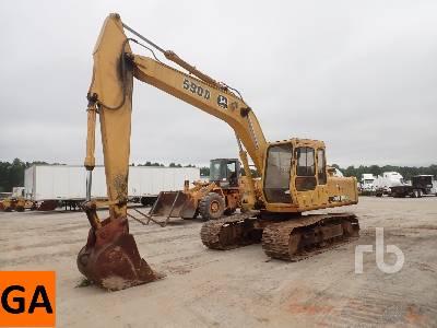 1994 JOHN DEERE 590D Hydraulic Excavator