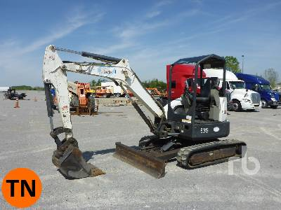 2011 BOBCAT E35 Mini Excavator (1 - 4.9 Tons)