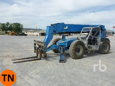 2014 GENIE GTH1056 10000 Lb 4x4x4 Telescopic Forklift