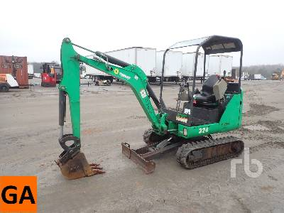2014 BOBCAT 324M Mini Excavator (1 - 4.9 Tons)