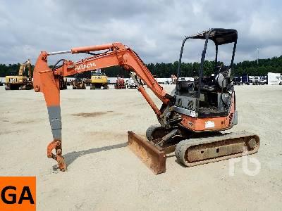 2007 HITACHI ZX35U-2 Mini Excavator (1 - 4.9 Tons)
