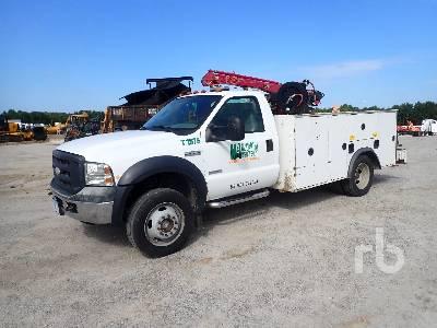 2006 FORD F550 4x4 Mechanics Truck