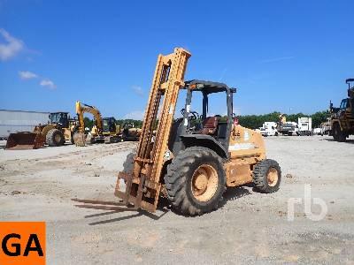 2004 CASE 586G 6000 Lb 4x4 Rough Terrain Forklift