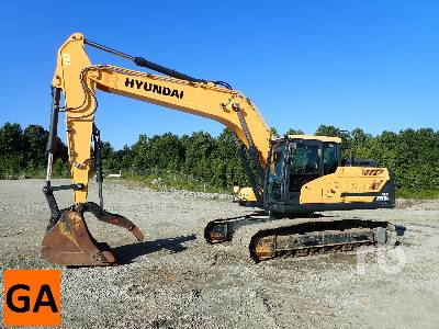 2016 HYUNDAI HX260 Hydraulic Excavator