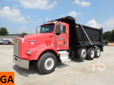 2003 KENWORTH T800 Tri/A Dump Truck (Tri/A)