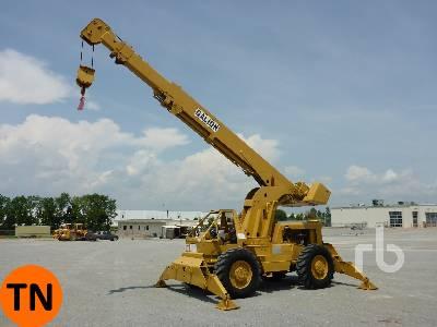 1975 GALION 150A 15 Ton 4x4x4 Rough Terrain Crane
