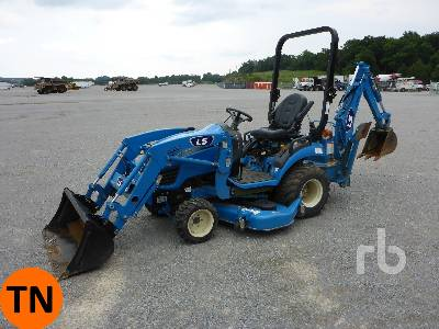 2018 LS MTRON MT125 4WD Utility Tractor