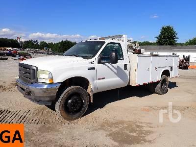 2004 FORD F550 XL 4x4 Mechanics Truck