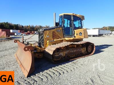 2010 JOHN DEERE 750J LGP Crawler Tractor