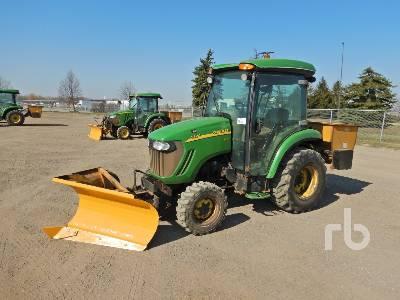 2010 JOHN DEERE 3520 MFWD Utility Tractor
