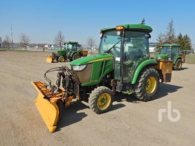 2014 JOHN DEERE 3039R MFWD Utility Tractor