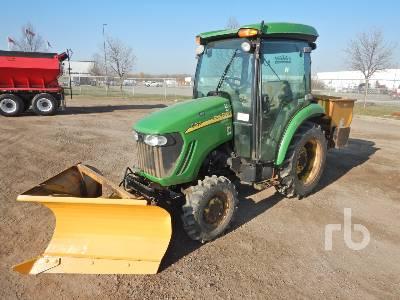 2009 JOHN DEERE 3720 MFWD Utility Tractor