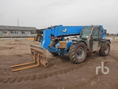 2013 GENIE GTH1056 10000 Lb 4x4x4 Telescopic Forklift