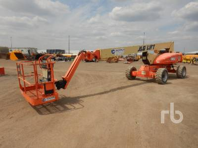 2011 JLG M600JP Hybrid 4x4 Articulated Boom Lift
