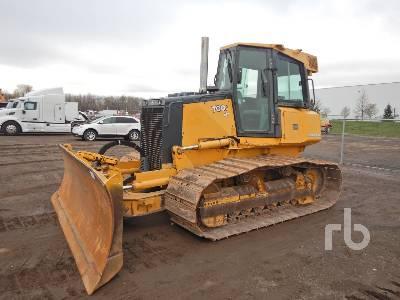 2010 JOHN DEERE 700J LGP Crawler Tractor