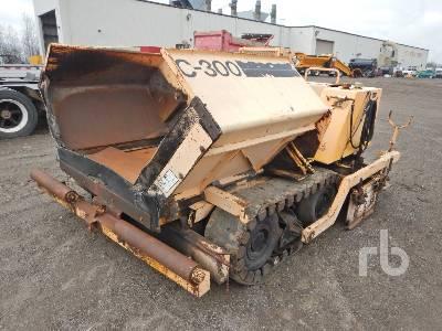 1980 BABCOCK-ALLATT Crawler Asphalt Paver