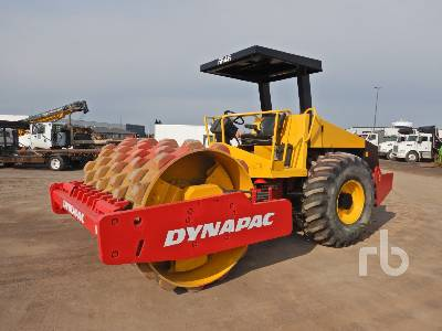 2008 DYNAPAC CA260PD Vibratory Padfoot Compactor