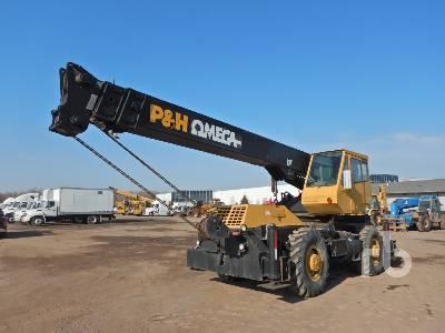 1980 P&H OMEGA 20 Ton 4x4x4 Rough Terrain Crane