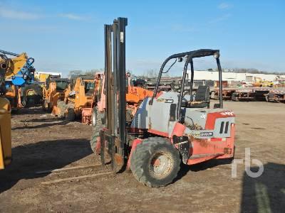 2000 PALFINGER BU553M 4300 Lb Truck Mounted Forklift