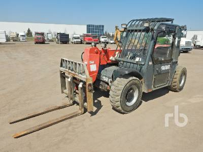 2012 MANITOU MT5519 5500 Lb 4x4x4 Telescopic Forklift