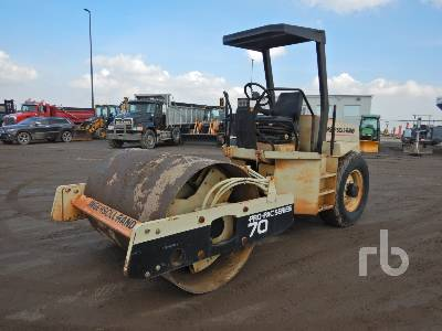 1998 INGERSOLL-RAND SD70D Propac Vibratory Roller