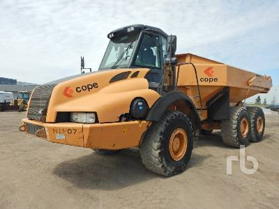 2007 CASE 330B 6x6 Articulated Dump Truck
