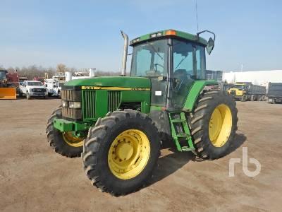1997 JOHN DEERE 7410 MFWD Tractor