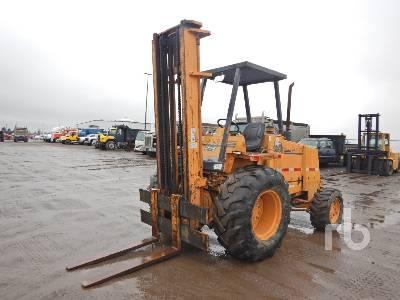 1998 CASE 586E 6000 Lb 4x4 Rough Terrain Forklift