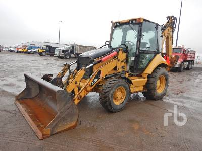 2010 CATERPILLAR 420EIT 4x4 Loader Backhoe