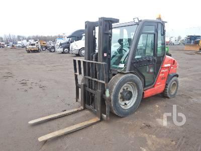 2012 MANITOU MS135T 6880 Lb Forklift