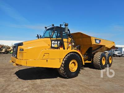 2016 CATERPILLAR 745C 6x6 Articulated Dump Truck